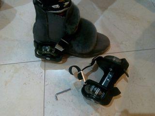 ruedines zapatillas