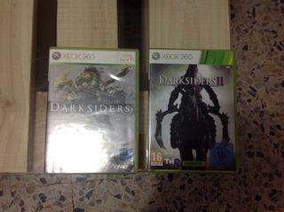 Darksiders 1 y 2 para XBOX 360