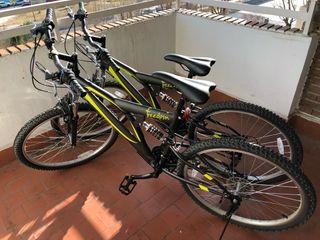 """Bicicletas. (Precio por las 2 bicicletas) 26"""""""