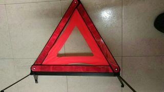 2 triángulos señalización.