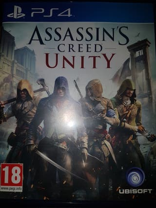 Juego ps4 Assasin's Creed Unity