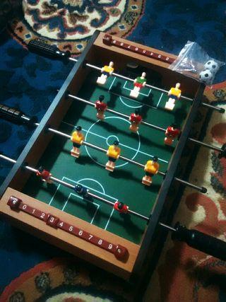 Mini Futbolín de Madera