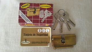 Cerradura con llaves - bombin