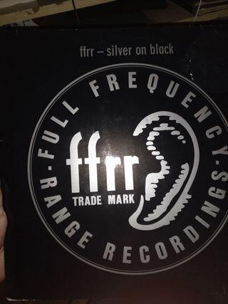 ffrr - silver on black
