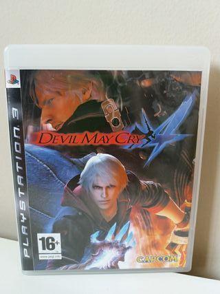 Juego Devil May Cry 4 para PlayStation 3 PS3