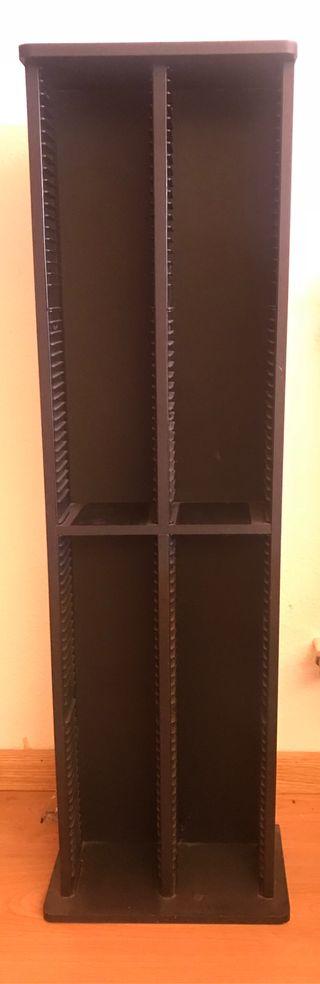 Mueble estantería para 152 CD y DVD