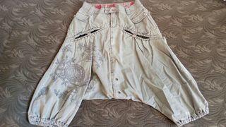 Pantalones mujer desigual