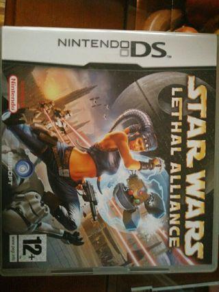 juego nintendonds Star Wars Lethal Alliance