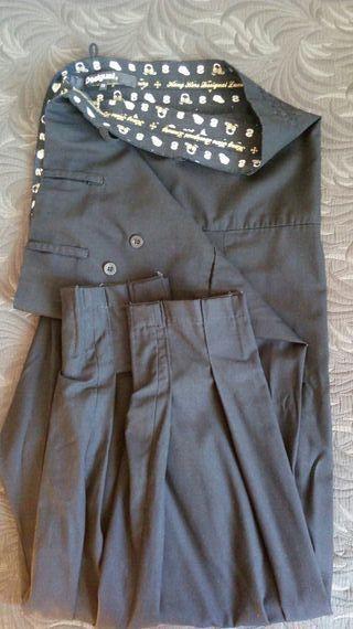 desigual pantalon japones