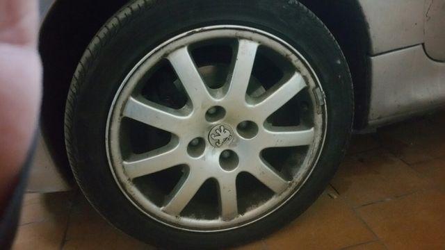 """4 llantas Peugeot 206 gti 16"""""""
