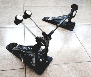 Doble pedal bateria DW 7000