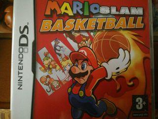 Juego nintendo ds mario basketball