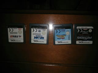 juegos variados nintendo DS