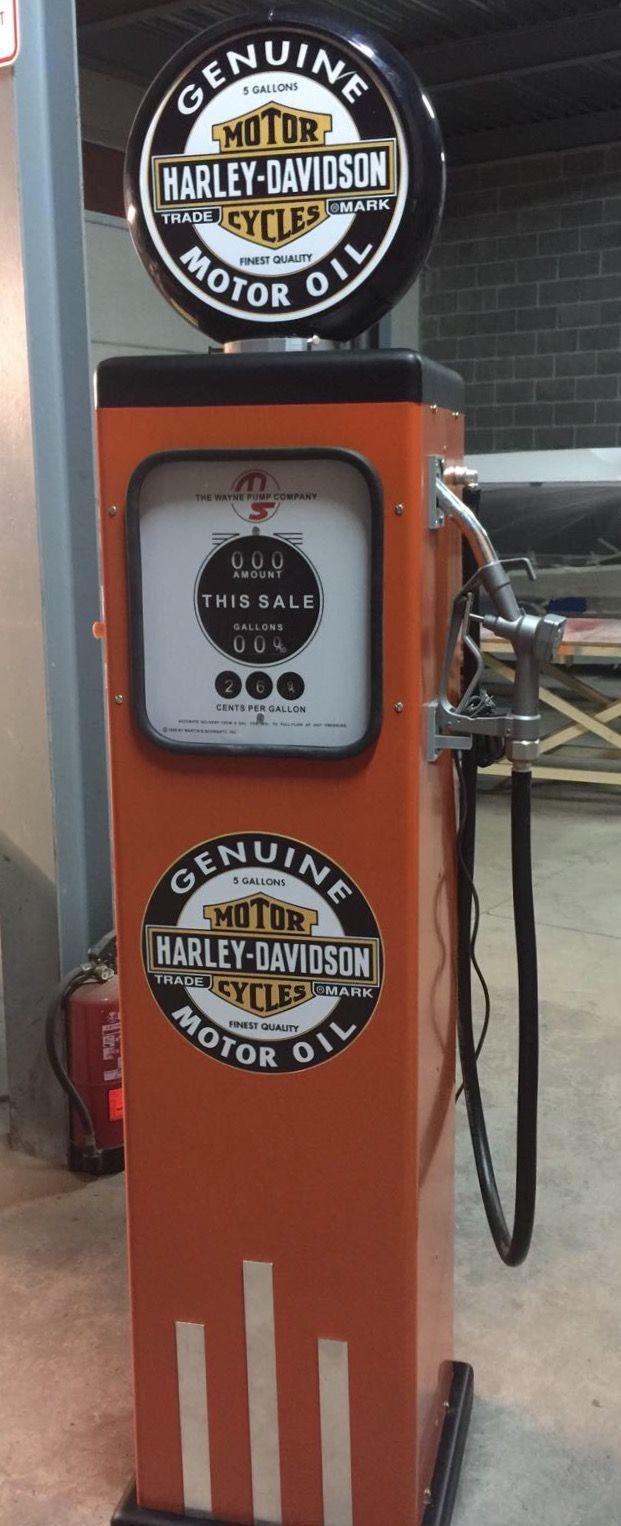 Surtidor Harley Davidson