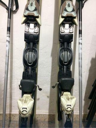 Skis y botas
