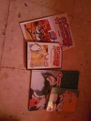 libros y dvds
