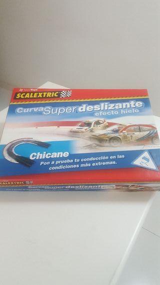 Curva Chicane deslizante Scalextric