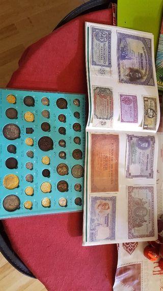 billetes y monedas del periodico informacion