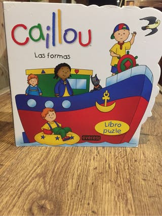 Libro puzzle CAILLOU nuevo