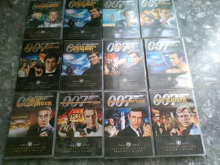 Peliculas James Bond 007 en DVD
