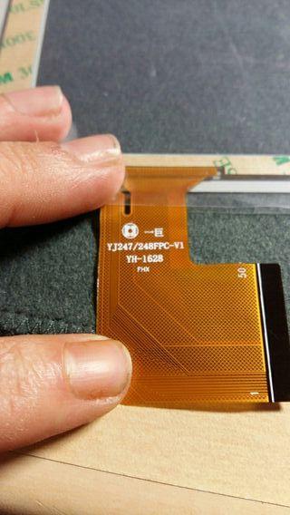 digitalizador YJ247/248FPC-V1 YH-1628 blanco