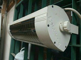 Estufa calefactor exterior infrarrojos