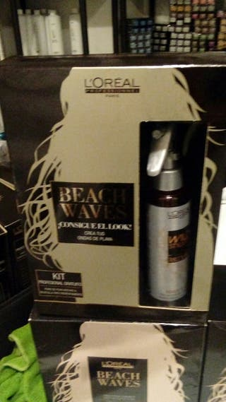 pack cabello beach waves