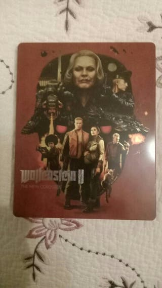 wolfenstein ps4 steelbook