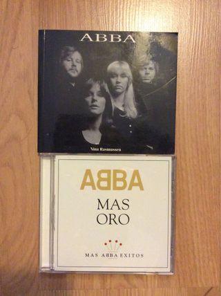 Abba libro y CD Mas Oro