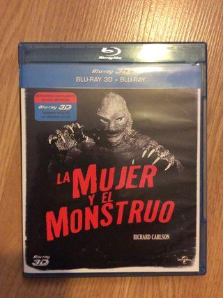 La mujer y el monstruo Blu-Ray