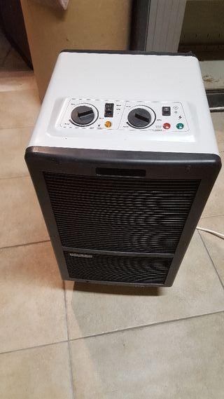 Deshumidificador y calefactor electrico