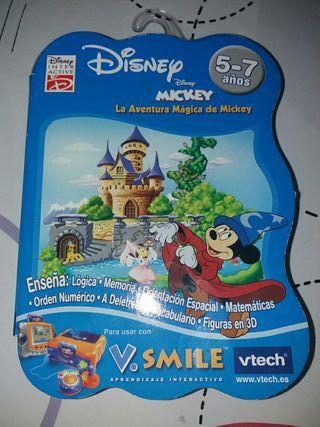 Juegos consola vtech smile
