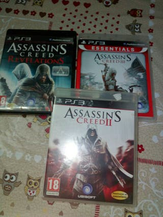 Ps3 juegos assasins creed