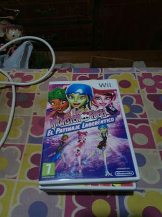 Juego Monster High Patinaje Wii