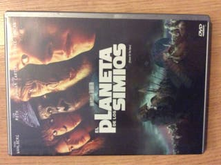 El planeta de los simios DVD