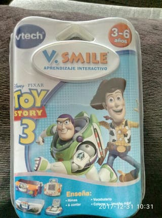 JUEGO CONSOLA VETCH TOY STORY 3 -V SMILE