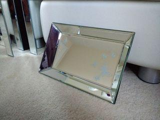 laura ashley mirror trinked edged tray