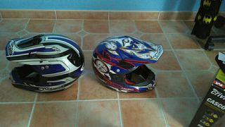 cascos moto o quad