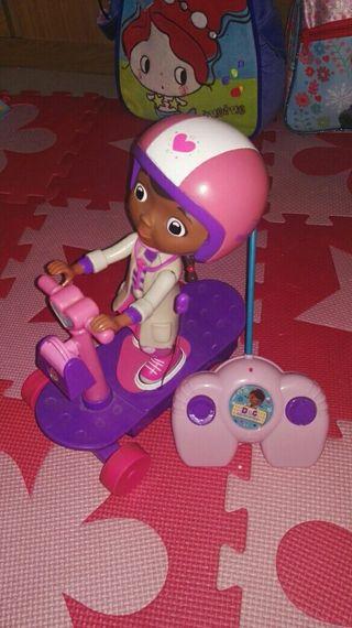 Doctora juguetes radio control.