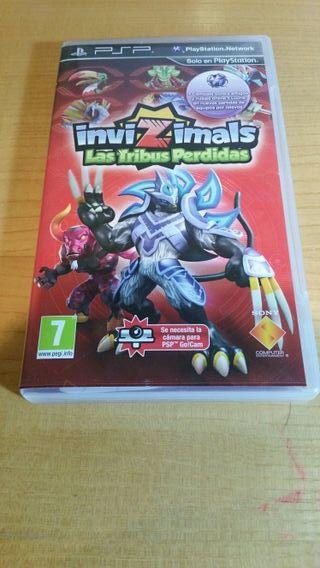 Invizimals: Las Tribus Perdidas (Para PSP)