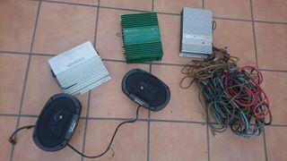 equipo sonido para coche