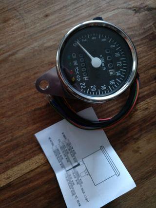 Cuentakilómetros Bobber Chopper