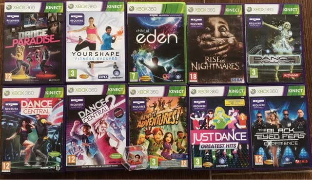 Juegos Kinect Xbox 360 Kinect De Segunda Mano Por 70 En Utrera