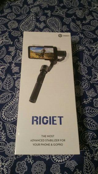 Estabilizador Rigiet de 3 ejes para móvil y GoPro