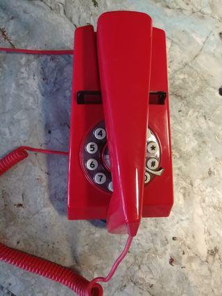 Teléfono retro fijo