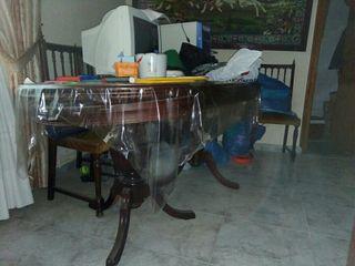 mesa de salon extensible