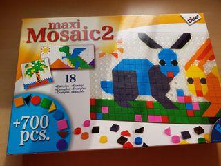 juguetes mosaico de 700piezas 18 laminas