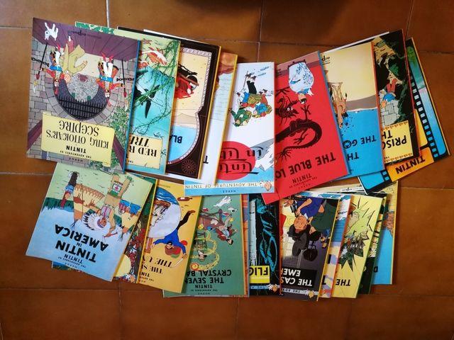 Comics de Tintin en ingles