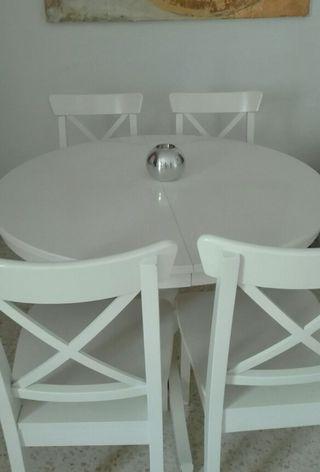 Mesa comedor Ikea de segunda mano en Sevilla - wallapop