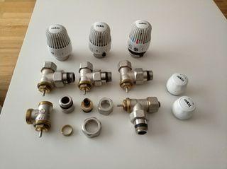 Cabezales y válvulas termostáticas Orkli